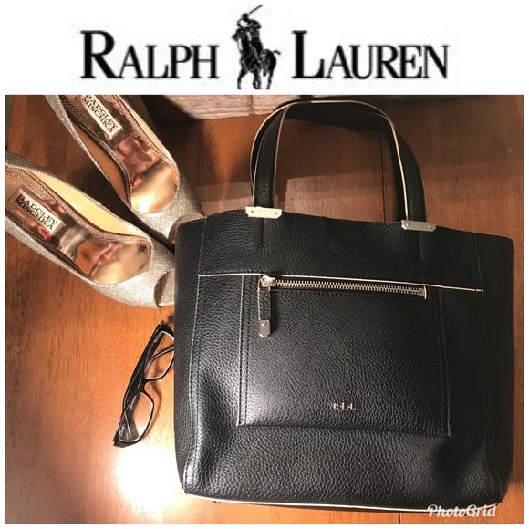eadd835b7b Lauren Ralph Lauren Handbags - Beautiful faux leather Ralph Lauren tote
